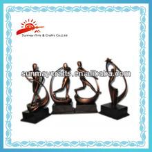 Polyrésine sport trophée Souvenirs Figurine
