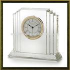 Wholesale wedding favor crystal clock for home decoration wedding gift