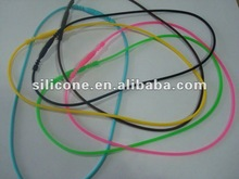 promotion silicone necklace fashion silicone necklace