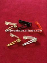Metal suspender clips