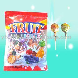 7g Assorted Fruit Flavor Lollipop