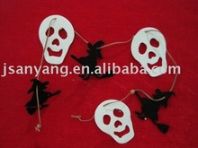 fabric hanging decoration, halloween ghost decoration, cloth string