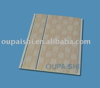 decorative pvc wall panel with groove