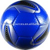 hand sewning soccer / hand-stitched laser PVC / PU match soccer ball