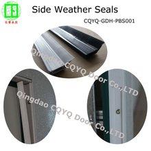 Porte de garage hardwares- côté joints météo