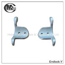 Metal End Lock Garage Door Parts