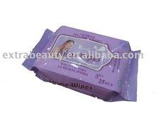 feminine wet wips 25ct (intimate wipes)