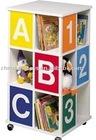 Digital &Letter Wooden Decorative Filing Cabinets and Bookshelf