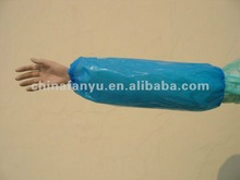 plastic oversleeve,disposable sleeve cover,white,plastic,new material,raw again