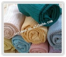 Custom1-made 100% Cotton Blanket New Design