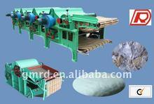Two-Roller GM410 Auto-feeding/opening textile waste/cotton machine