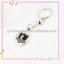 heart shaped charm keychain