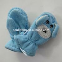 polar fleece children's winter mittens and gloves