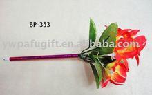 plastic flower craft ball pen