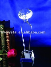 Fashion spherical blank crystal trophy gifts