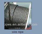 6*19 galvanized Steel wire ropes 16mm