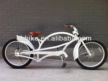 24inch white CE cruiser chopper bike/Chopper cruiser bikes