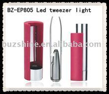 eyebrow tweezer with light,electric eyebrow tweezer,smart led tweezers