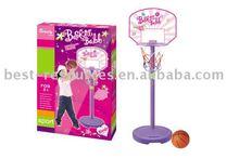 Basketball and board