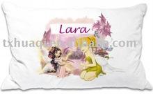 printed cotton pillow