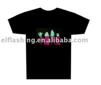 led display T-shirt