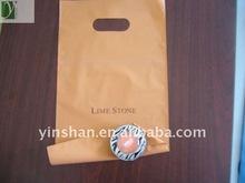 Hot sales Plastic Heat seal carrier die cut bag