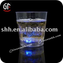 Flashing Whiskey Glass