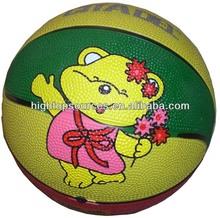Rubber basketball ball for promotion,cheap kids basketball, Mini basketball colorfull