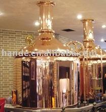 300L red copper hotel Brewing Equipment