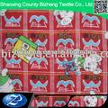 animal dos desenhos animados design impresso punho macio de algodão tecido de flanela mercadorias prontas para calças de menino