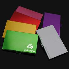 Aluminum business card holder/card case