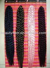 Dreadlocks synthetic hair braid