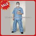 desechables no tejidos uniforme del hospital