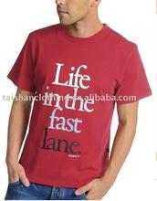Men's Slogan Printed Tshirt