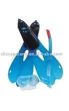Diving equipments Swimming /diving Set include diving mask,diving fins,snorkel swim set
