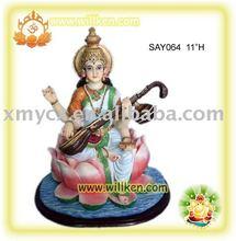 Polyresin Hindu God Statues india god statue saraswati