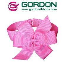 popular plum grosgrain ribbon packing bow