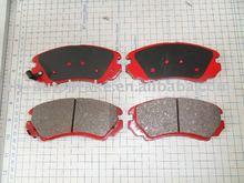 brake pad factory adhensive for Hyundai brake pad ceramic material