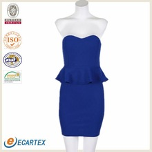 Strapless Sexy New Fashion Dress 2012