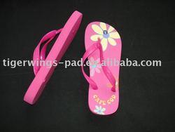 blank flip flops