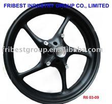 Motorcycle rim wheel for YZF R6 03-09