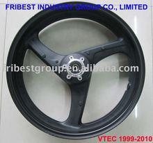 Motorcycle rim wheel for CB400 VTEC Tubeless