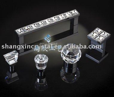 Diamant ensemble bouton de porte et cristal poign e Bouton cristal meuble cuisine