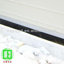Aluminum Top and Bottom stripe
