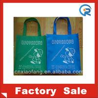 The ECO non-woven shopping bags for school