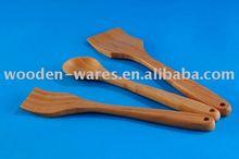 bamboo salad spoons, wooden salad hands, wooden server