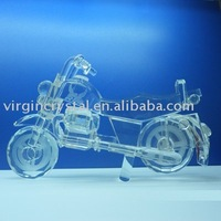 collectible Crystal Motorcycle Models