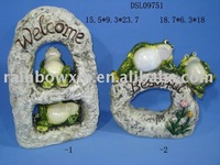 funny pottery decorative frog