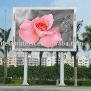 CE RoHS 5X4m P16mm advertising outdoor full color video led display