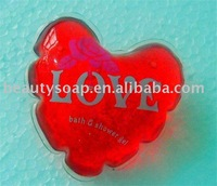 heart bath shower gel